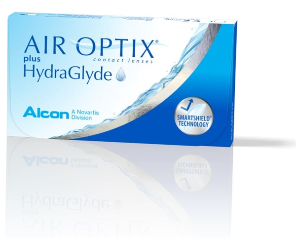 Air Optix Plus HydraGlyde 6 Pack Contacts